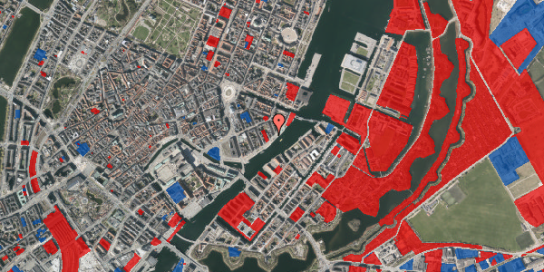 Jordforureningskort på Havnegade 41A, kl. 5, 1058 København K