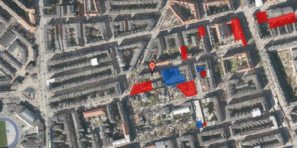 Jordforureningskort på Viborggade 42, st. th, 2100 København Ø