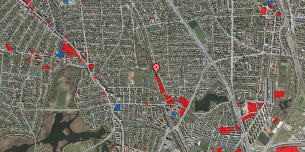 Jordforureningskort på Rødhalsgangen 15, 2400 København NV