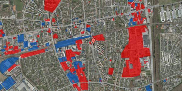 Jordforureningskort på Østbrovej 12C, 2. th, 2600 Glostrup