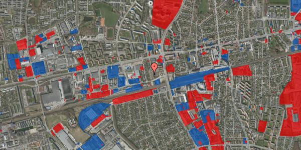 Jordforureningskort på Eriksvej 22, 2600 Glostrup
