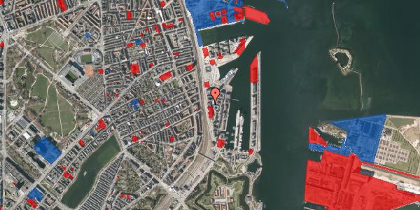 Jordforureningskort på Amerika Plads 17, 4. , 2100 København Ø
