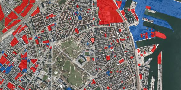 Jordforureningskort på Østerfælled Torv 18, 2100 København Ø