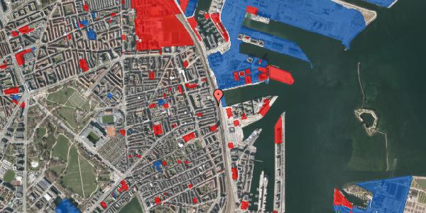 Jordforureningskort på Østbanegade 117, 2100 København Ø