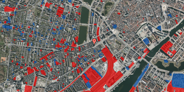Jordforureningskort på Trommesalen 3B, 4. , 1614 København V