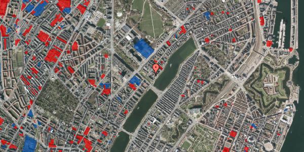 Jordforureningskort på Sortedam Dossering 53C, kl. 16, 2100 København Ø