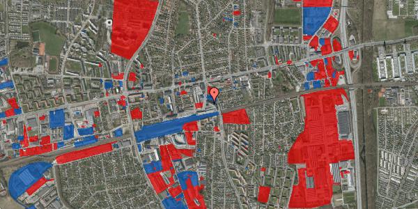 Jordforureningskort på Banegårdsvej 21, 2600 Glostrup