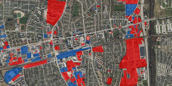 Jordforureningskort på Østbrovej 2A, 4. 2, 2600 Glostrup