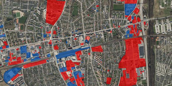 Jordforureningskort på Østbrovej 2B, 3. 2, 2600 Glostrup
