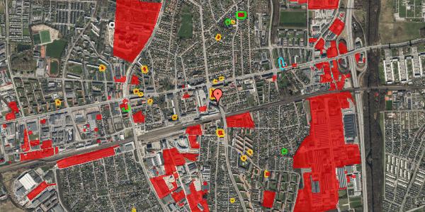 Jordforureningskort på Østbrovej 2B, st. 1, 2600 Glostrup