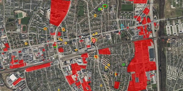 Jordforureningskort på Østbrovej 2C, 4. , 2600 Glostrup