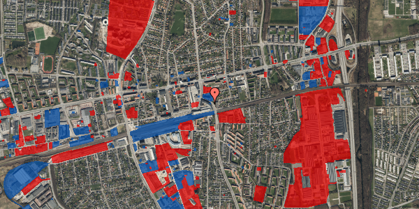 Jordforureningskort på Østbrovej 2F, 5. 4, 2600 Glostrup