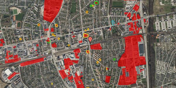 Jordforureningskort på Østbrovej 6, 4. 1, 2600 Glostrup