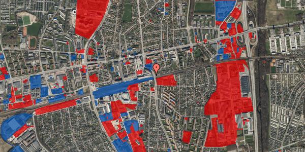 Jordforureningskort på Østbrovej 6, 5. 1, 2600 Glostrup