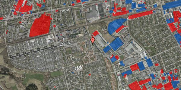 Jordforureningskort på Grønkløvervænget 14, 2625 Vallensbæk