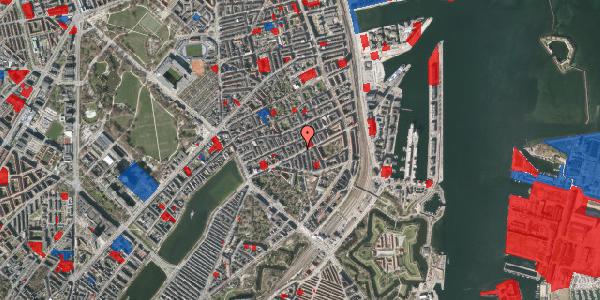 Jordforureningskort på Lipkesgade 16B, 2100 København Ø