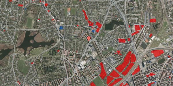 Jordforureningskort på Bispebjerg Parkallé 3, 2400 København NV