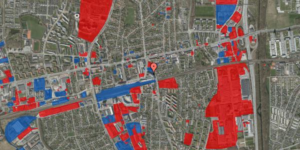 Jordforureningskort på Banegårdsvej 23, 2600 Glostrup