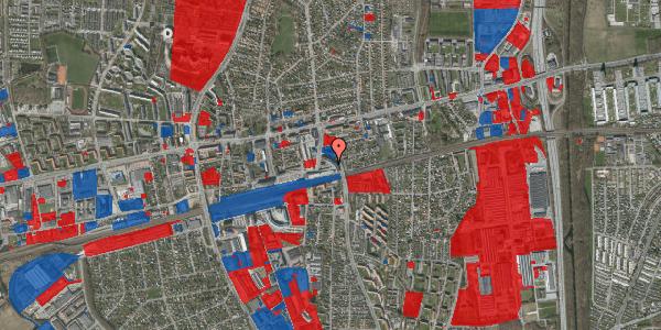 Jordforureningskort på Banegårdsvej 25, 2600 Glostrup