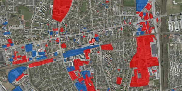 Jordforureningskort på Banegårdsvej 114A, 2600 Glostrup