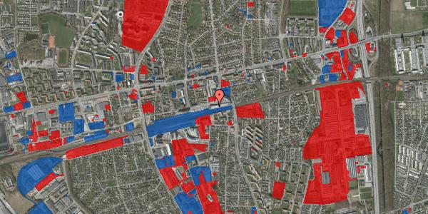 Jordforureningskort på Banegårdsvej 116, 2600 Glostrup