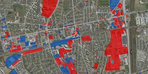 Jordforureningskort på Banegårdsvej 216A, 2600 Glostrup