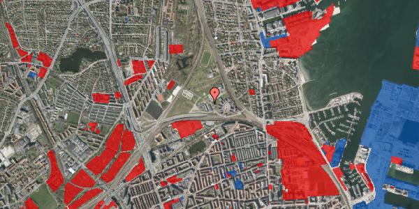 Jordforureningskort på Svanemøllens Kaserne 99, 2100 København Ø