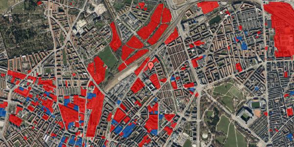Jordforureningskort på Emblasgade 81, 1. tv, 2100 København Ø