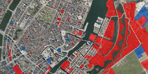 Jordforureningskort på Nyhavn 20B, 1051 København K