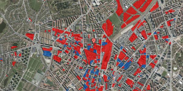 Jordforureningskort på Bygmestervej 1B, 1. tv, 2400 København NV