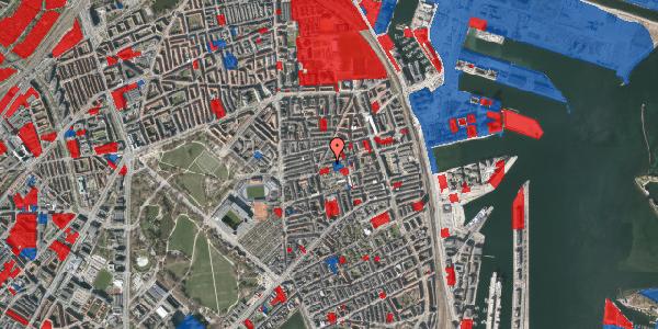 Jordforureningskort på Viborggade 44, 4. th, 2100 København Ø