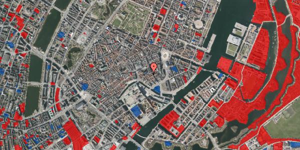 Jordforureningskort på Nikolajgade 15, 3. , 1068 København K