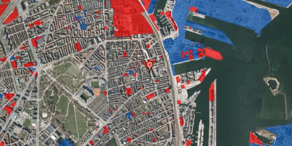 Jordforureningskort på Vejlegade 10, 1. 1, 2100 København Ø