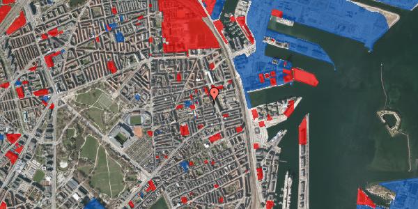 Jordforureningskort på Vejlegade 10, 2. 1, 2100 København Ø