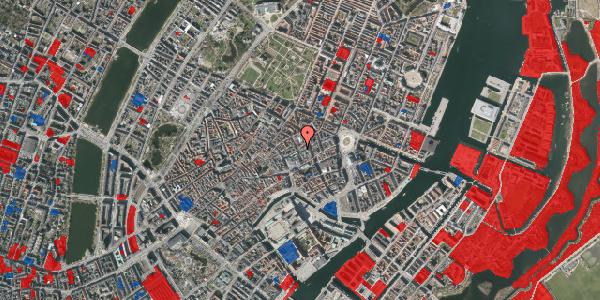Jordforureningskort på Pilestræde 16, 1112 København K