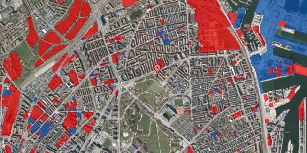 Jordforureningskort på Serridslevvej 41, 2100 København Ø