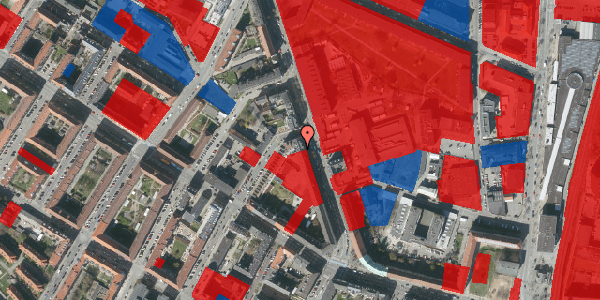 Jordforureningskort på Frederiksborgvej 21, 3. th, 2400 København NV
