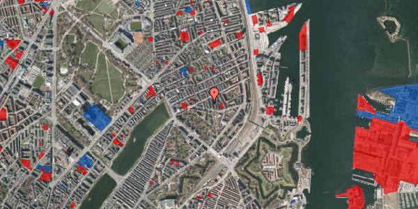 Jordforureningskort på Lipkesgade 5B, 1. th, 2100 København Ø