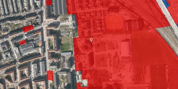 Jordforureningskort på Nyborggade 23, 2100 København Ø