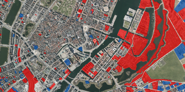 Jordforureningskort på Tordenskjoldsgade 30, 2. tv, 1055 København K