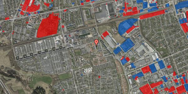 Jordforureningskort på Hvidkløvervænget 8, 2625 Vallensbæk
