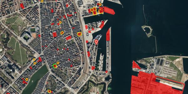 Jordforureningskort på Amerika Plads 36, 4. tv, 2100 København Ø