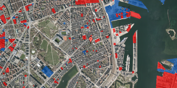 Jordforureningskort på A.L. Drewsens Vej 6, 2100 København Ø