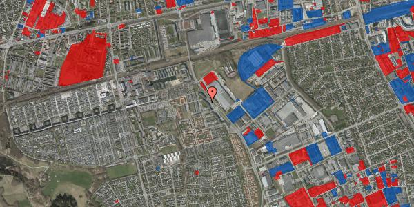 Jordforureningskort på Firkløverparken 22, 2625 Vallensbæk