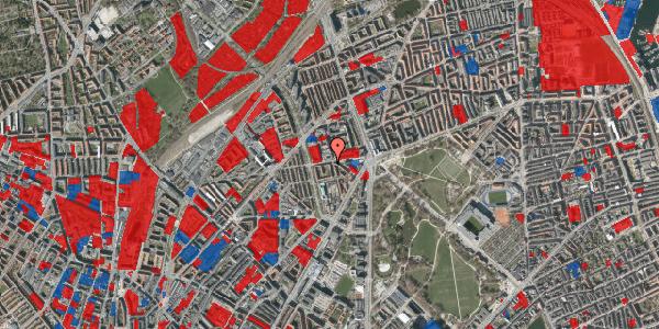 Jordforureningskort på Aldersrogade 15, 2100 København Ø