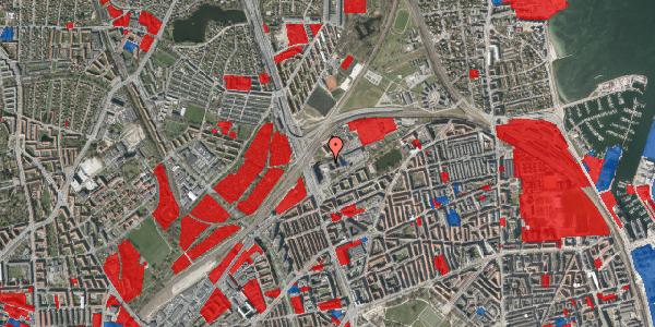 Jordforureningskort på Borgervænget 3A, 2100 København Ø