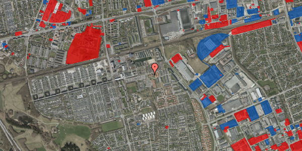 Jordforureningskort på Kløvervænget 84, st. 21, 2625 Vallensbæk