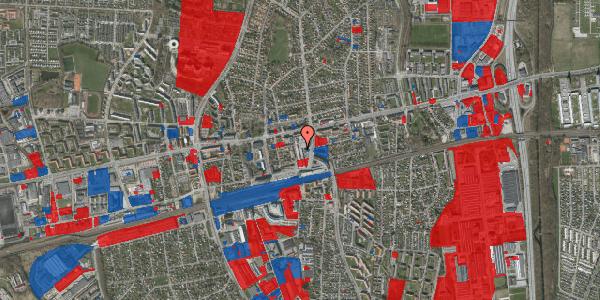 Jordforureningskort på Banegårdsvej 4, 2600 Glostrup