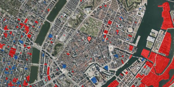 Jordforureningskort på Pilestræde 65, 1112 København K