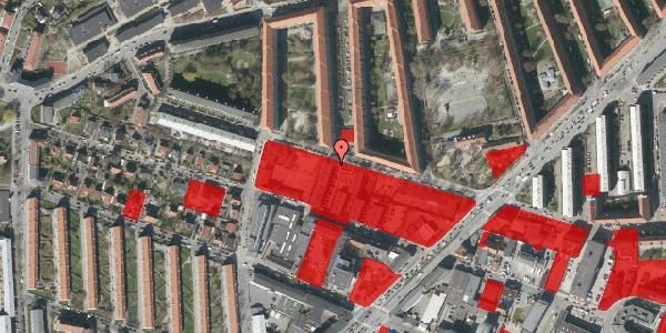 Jordforureningskort på Dortheavej 40C, 2400 København NV